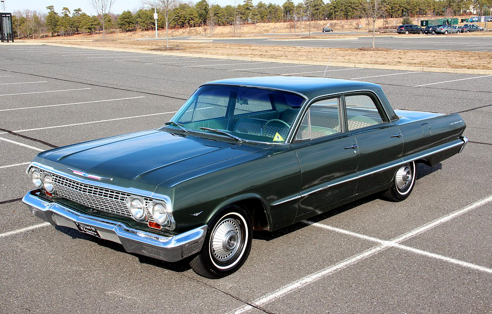 1963 Chevrolet Bel Air - Information and photos - MOMENTcar