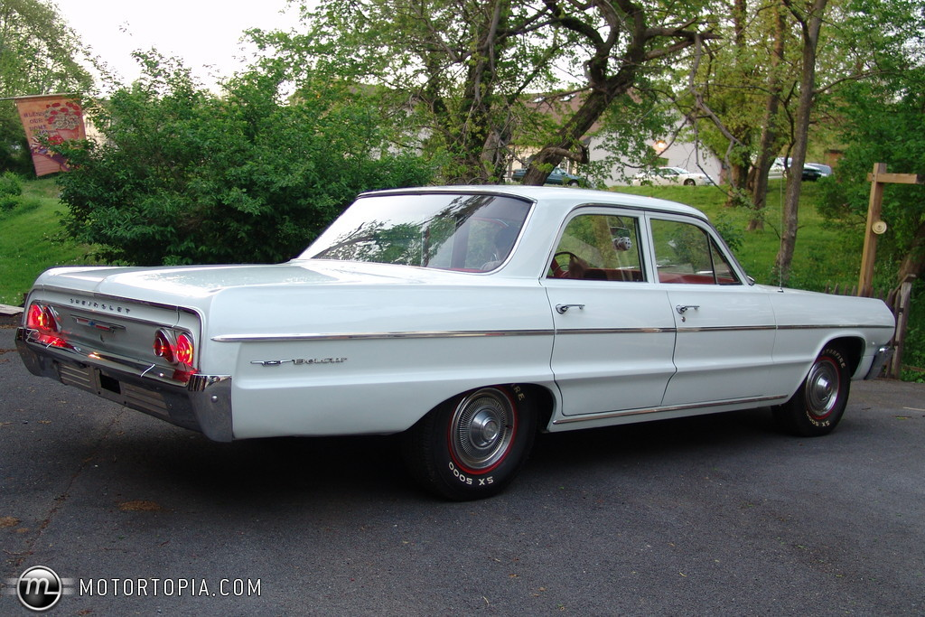 1964 Chevrolet Bel Air Information And Photos Momentcar