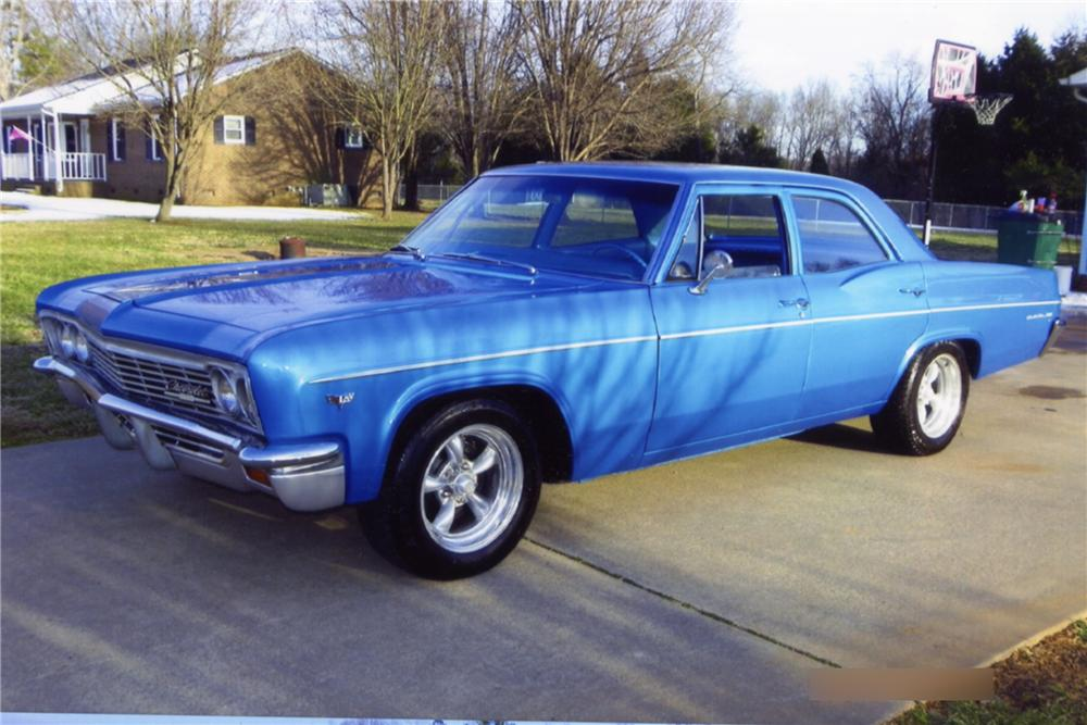 1966 Chevrolet Bel Air Information And Photos Momentcar