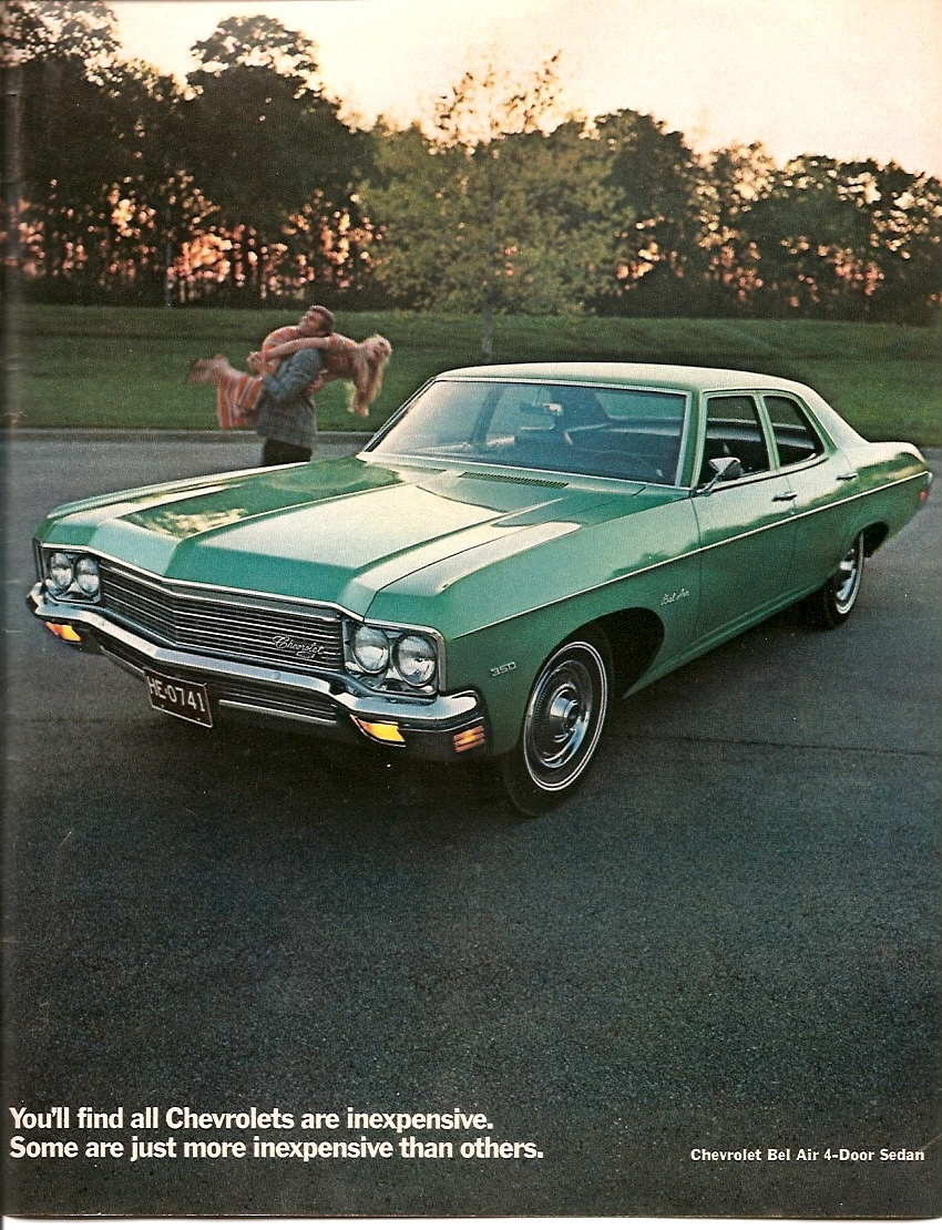 1970 Chevrolet Biscayne Information And Photos Momentcar
