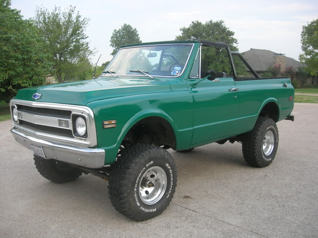 1969 Chevrolet Blazer Information And Photos Momentcar 1966 Chevy Lifted 7