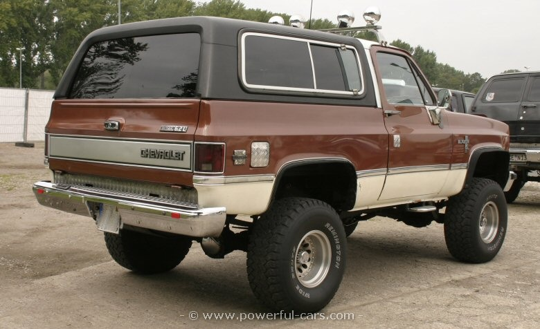 chevrolet blazer 1982 2 1982 chevrolet blazer information and photos momentcar 1983 Blazer at gsmx.co