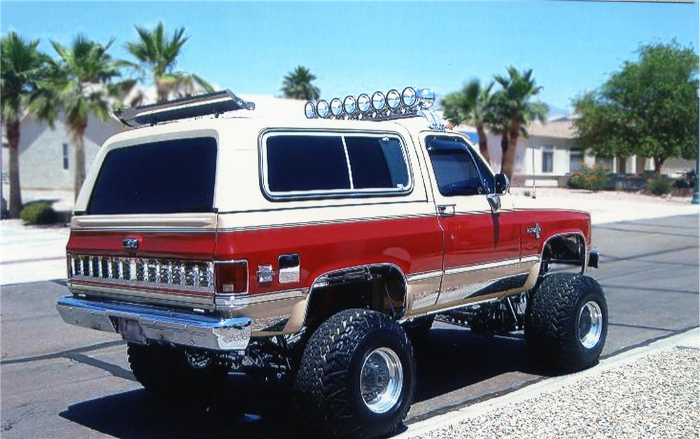 1985 Chevrolet Blazer  Information and photos  MOMENTcar