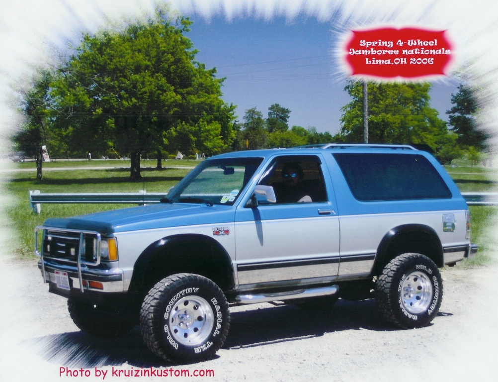 1988 Chevrolet Blazer - Information and photos - MOMENTcar