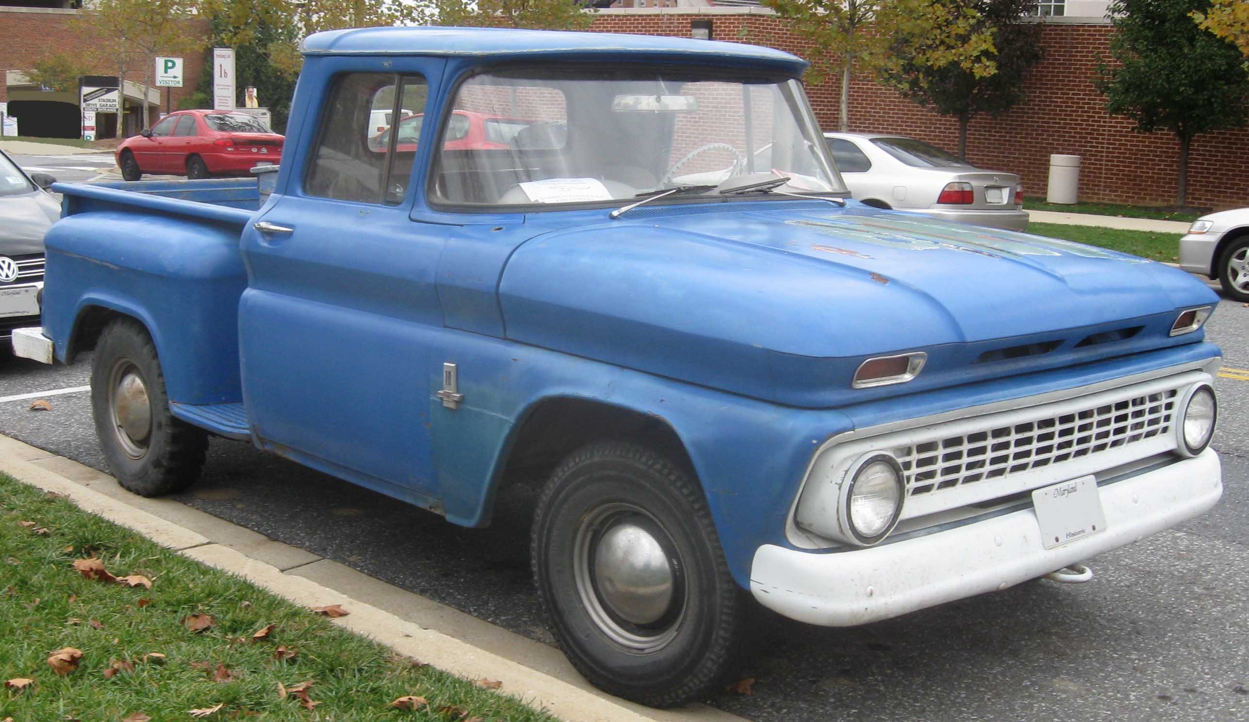 1966 Chevrolet C10 K10 Information And Photos Momentcar Chevy Trucks For Sale 11