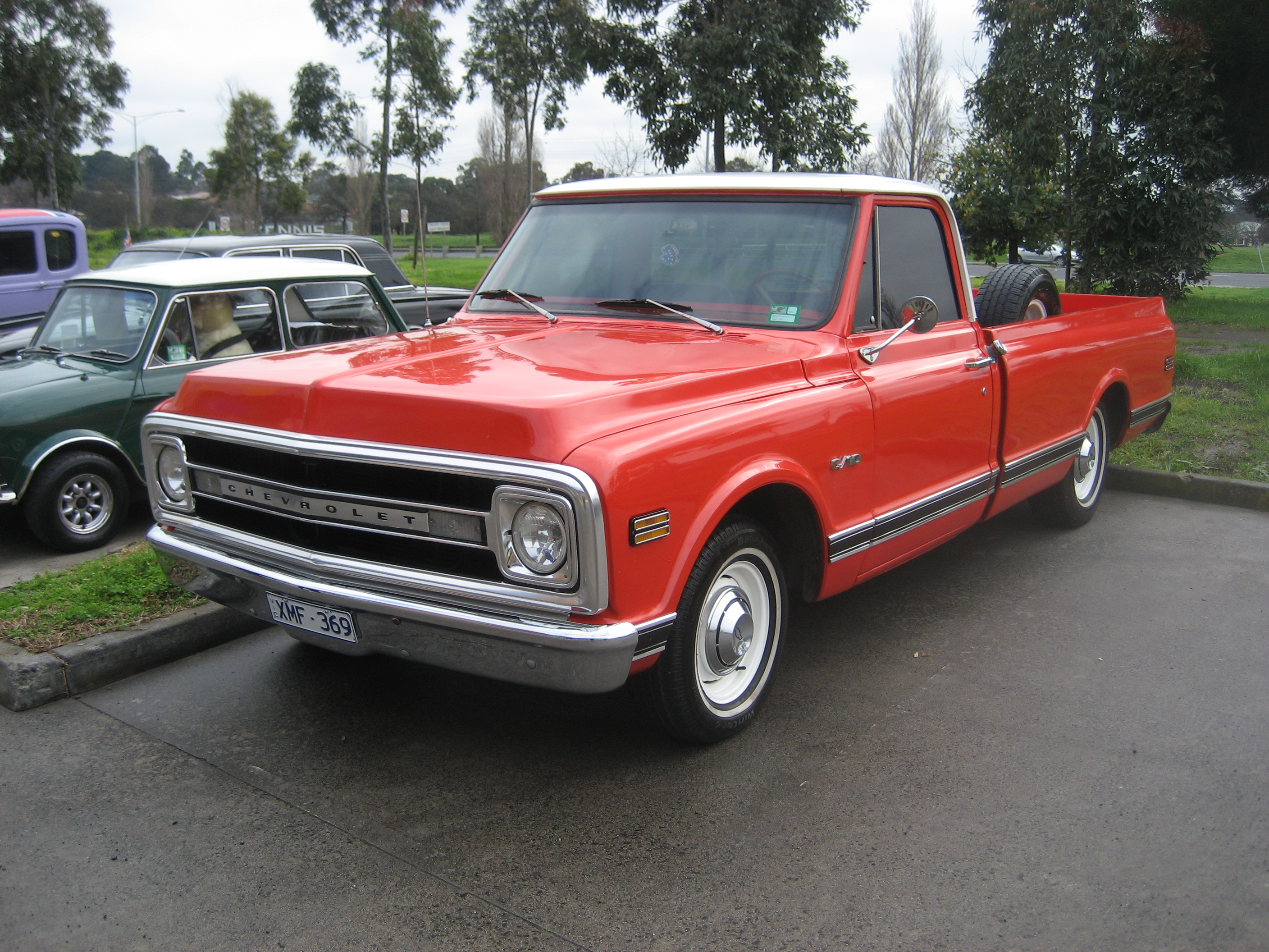 1970 Chevrolet C10 K10 Information And Photos Momentcar