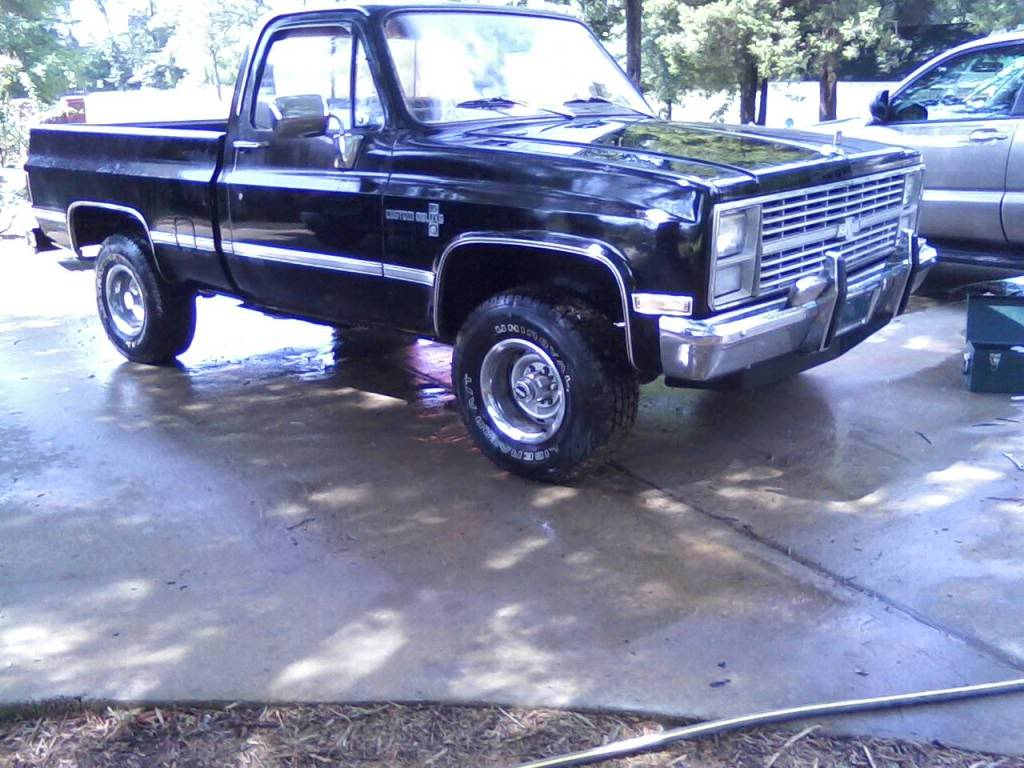 1983 Chevrolet C10/K10 - Information and photos - MOMENTcar
