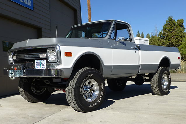 1964 Chevrolet C20/K20 - Information and photos - MOMENTcar