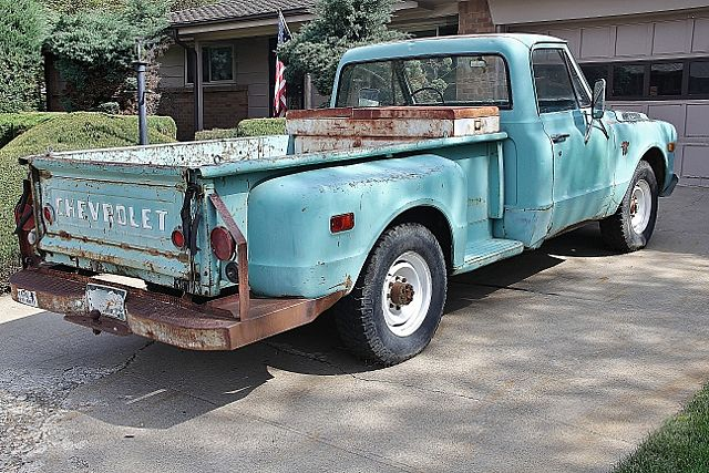 1965 chevrolet c20 k20 information and photos momentcar