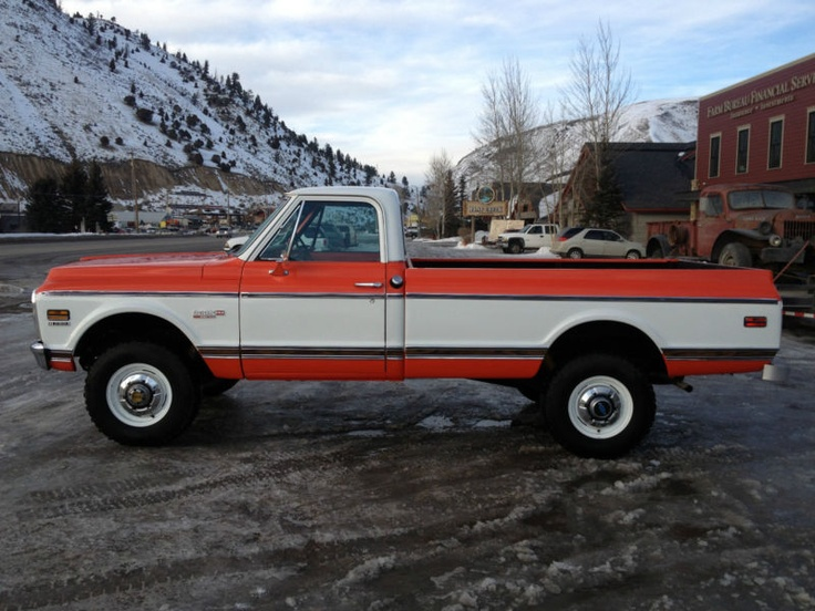 1971 chevrolet c20 k20 information and photos momentcar 1971 Chevy Truck chevrolet c20 k20 1971 3