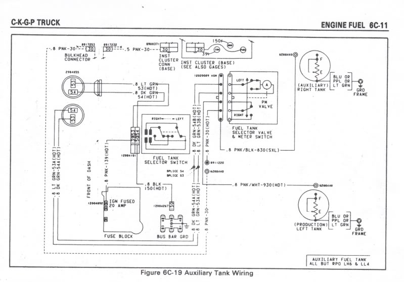 1983 chevy saddle tank wiring diagram   37 wiring diagram images