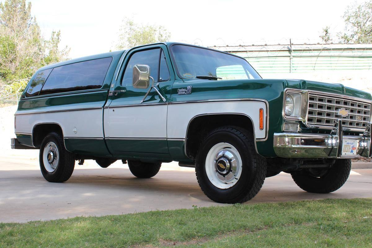 1975 chevrolet c20  k20 - information and photos
