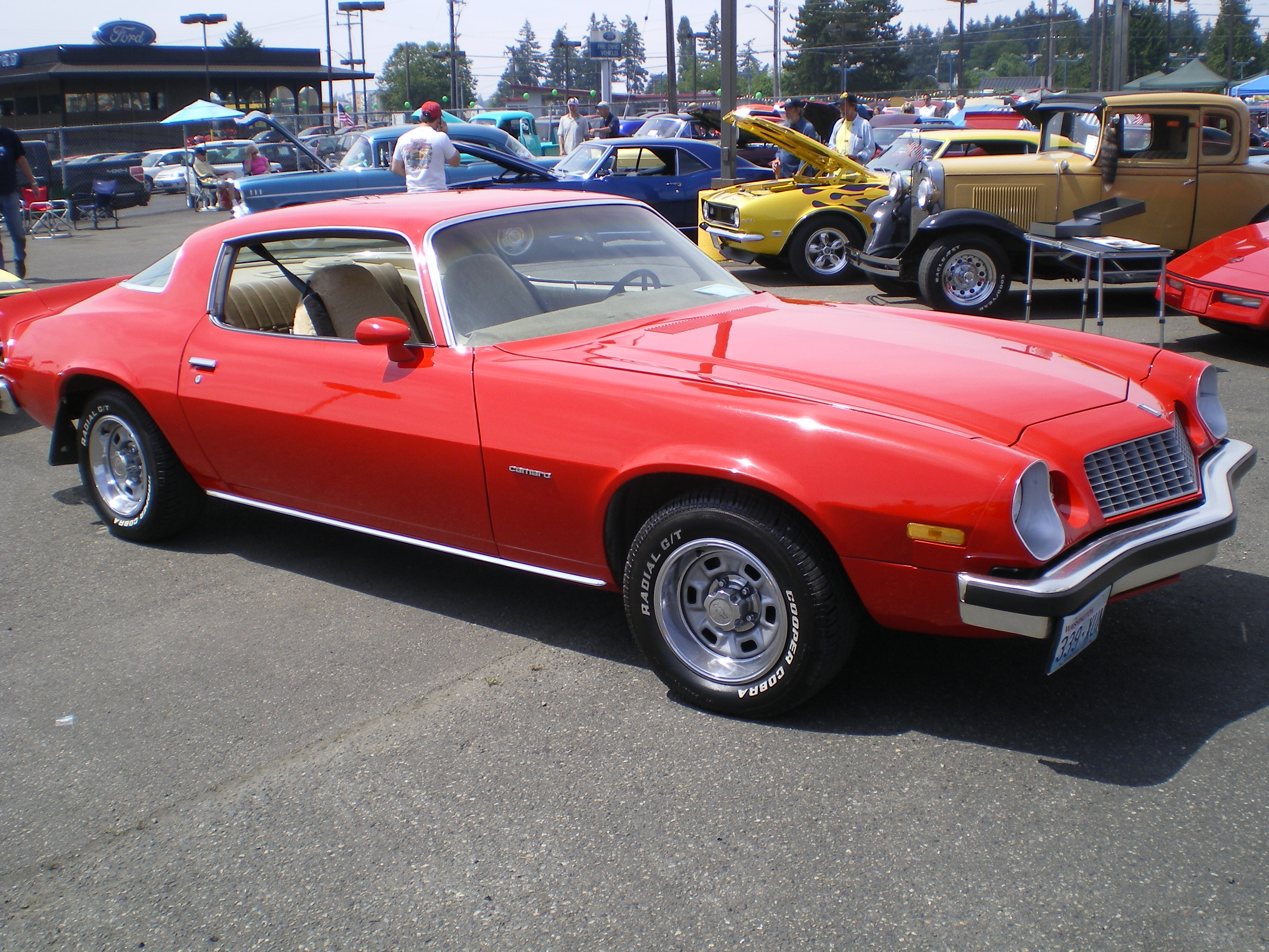 1976 Chevrolet Camaro Information And Photos Momentcar