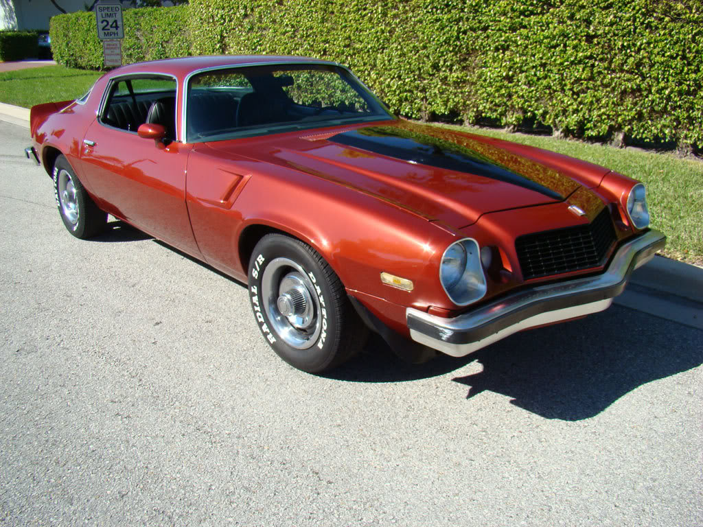 1976 Chevrolet Camaro - Information and photos - MOMENTcar