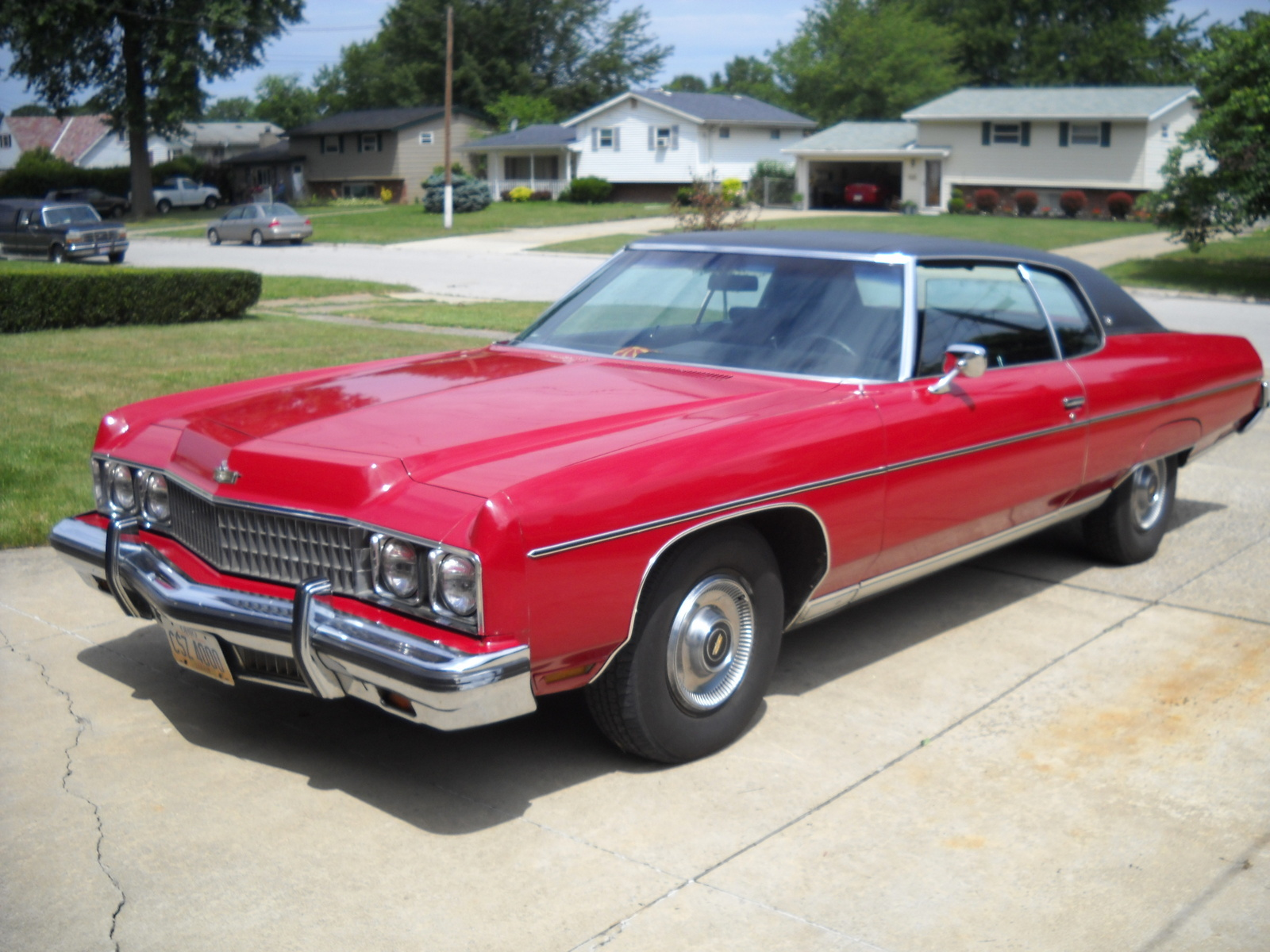 1973 chevrolet caprice information and photos momentcar. Black Bedroom Furniture Sets. Home Design Ideas