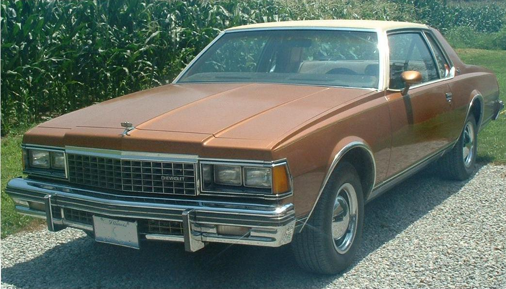 1978 Chevrolet Caprice Information And Photos Momentcar