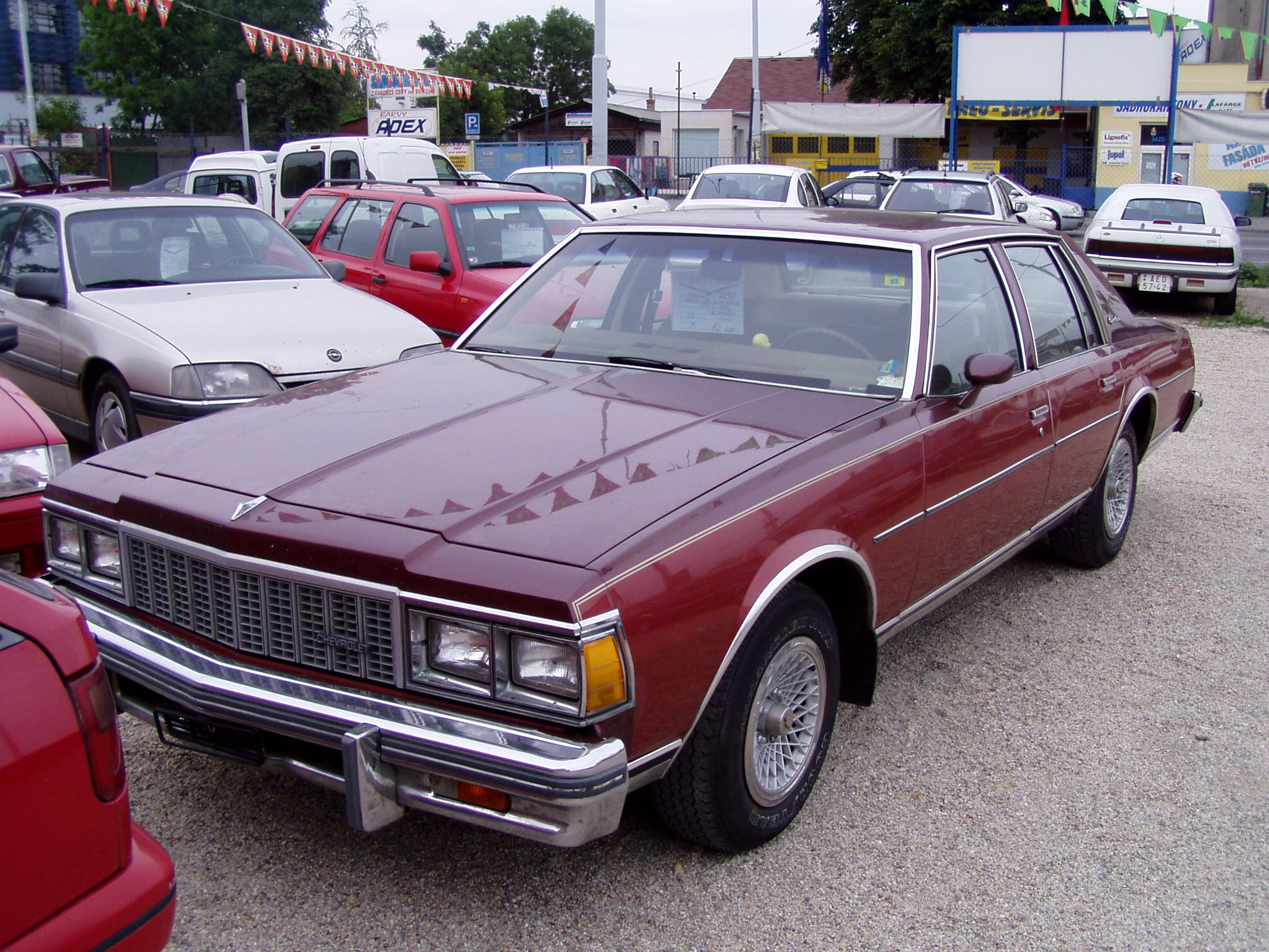 1980 Chevrolet Caprice Information And Photos Momentcar