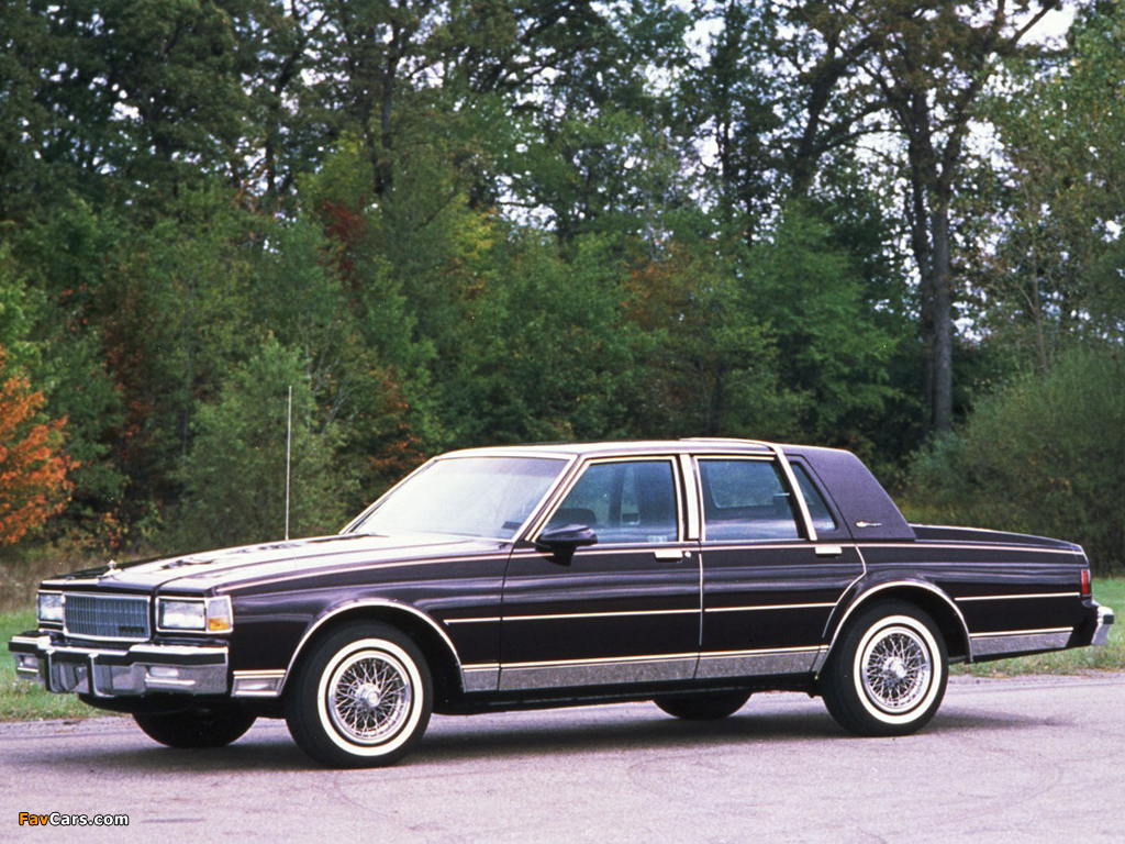 1987 Chevrolet Caprice Information And Photos Momentcar