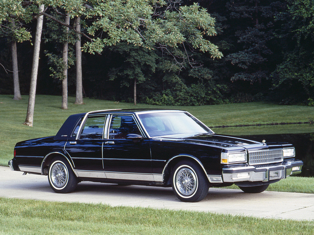 1990 Chevrolet Caprice Information And Photos Momentcar