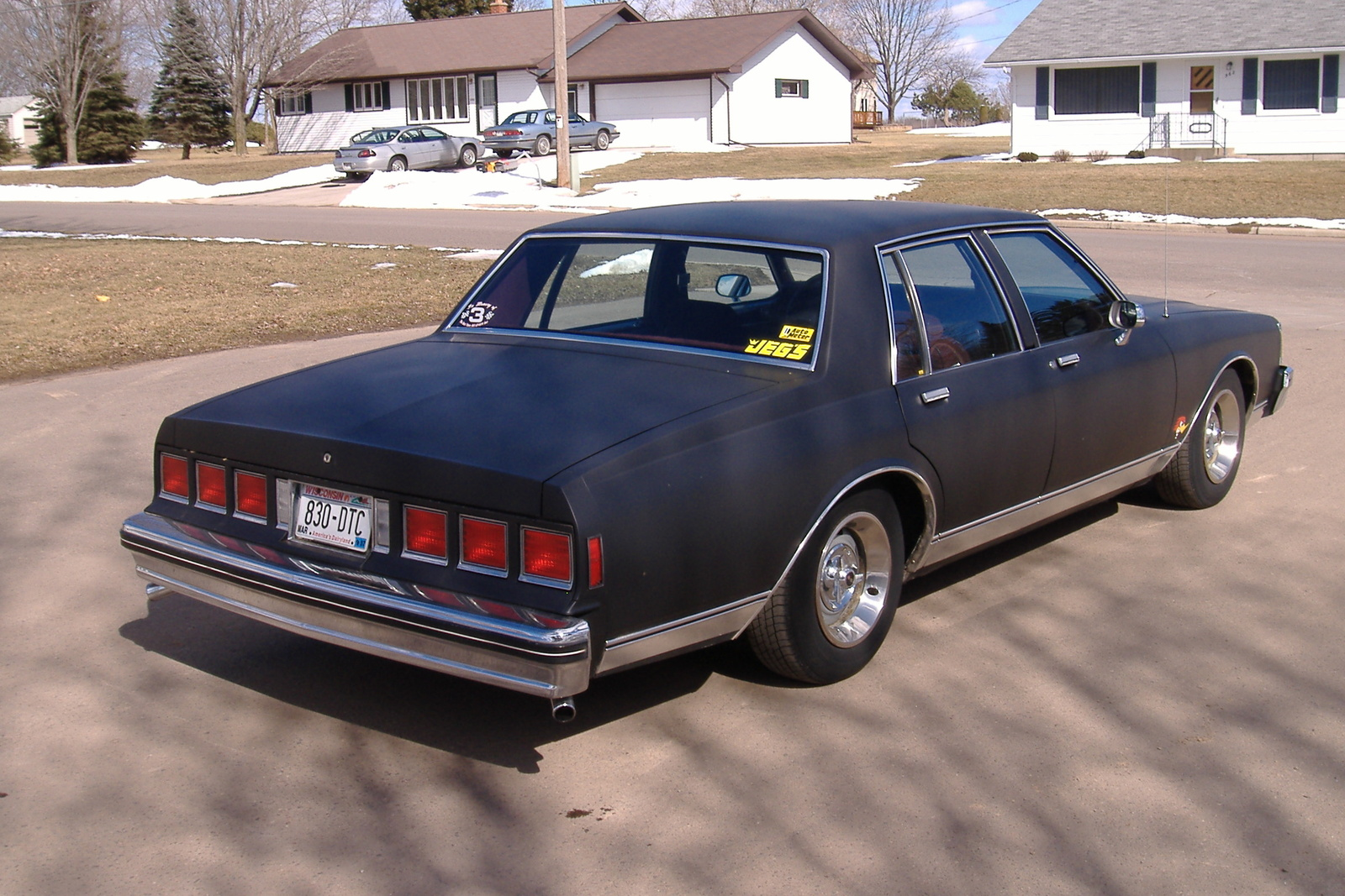All Chevy chevy caprice 1985 : All Chevy » 1985 Chevy Caprice Parts - Old Chevy Photos Collection ...