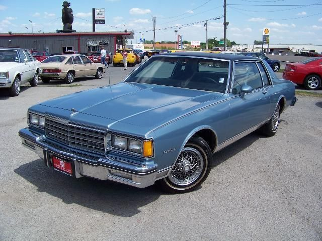 1985 Chevrolet Caprice Classic - Information and photos - MOMENTcar