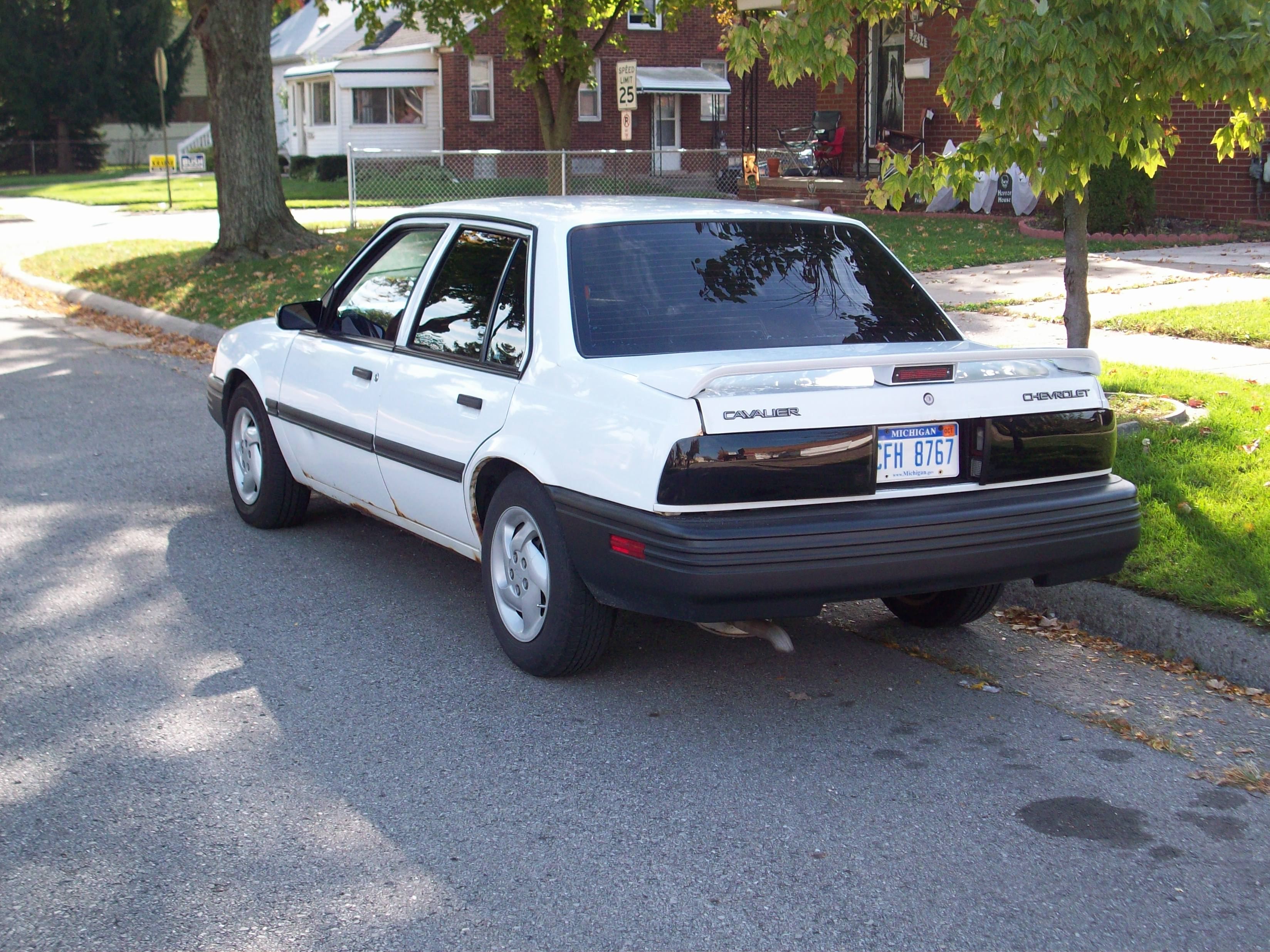 1994 Chevrolet Cavalier Information And Photos Momentcar