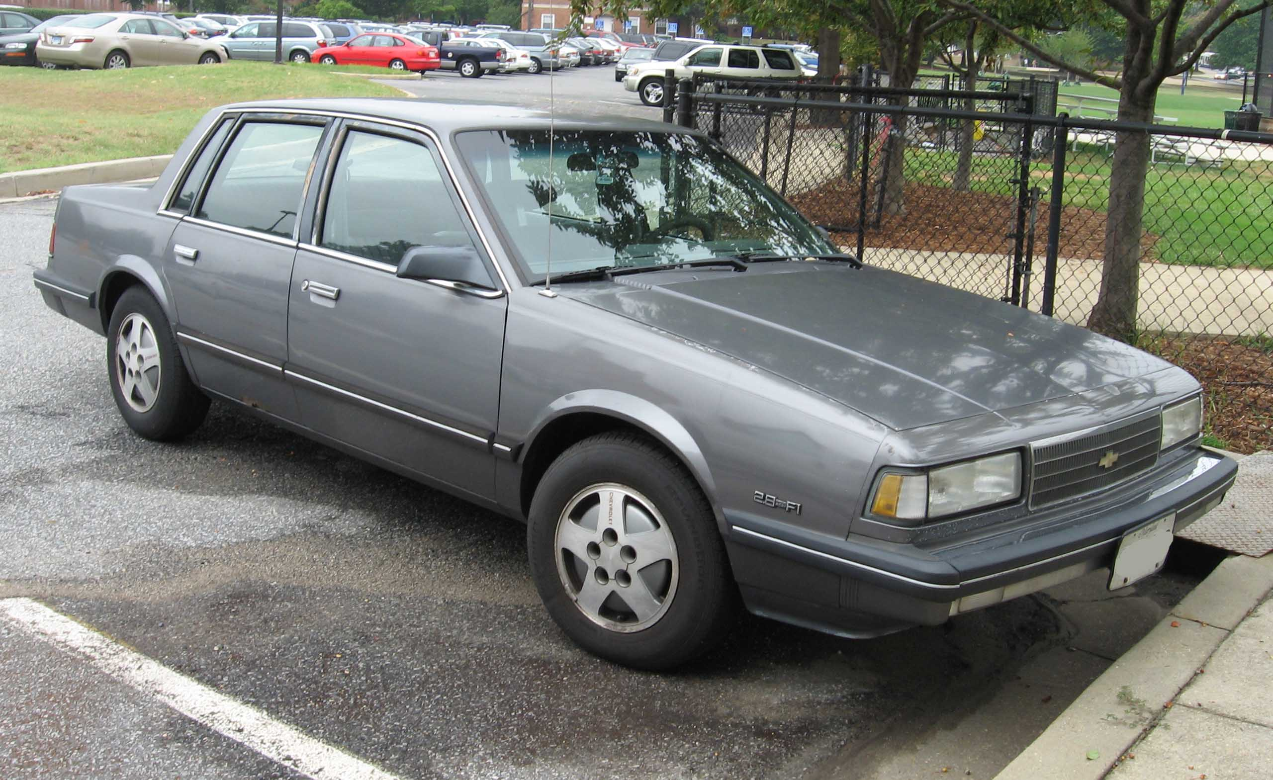 1987 Chevrolet Celebrity Information And Photos Momentcar