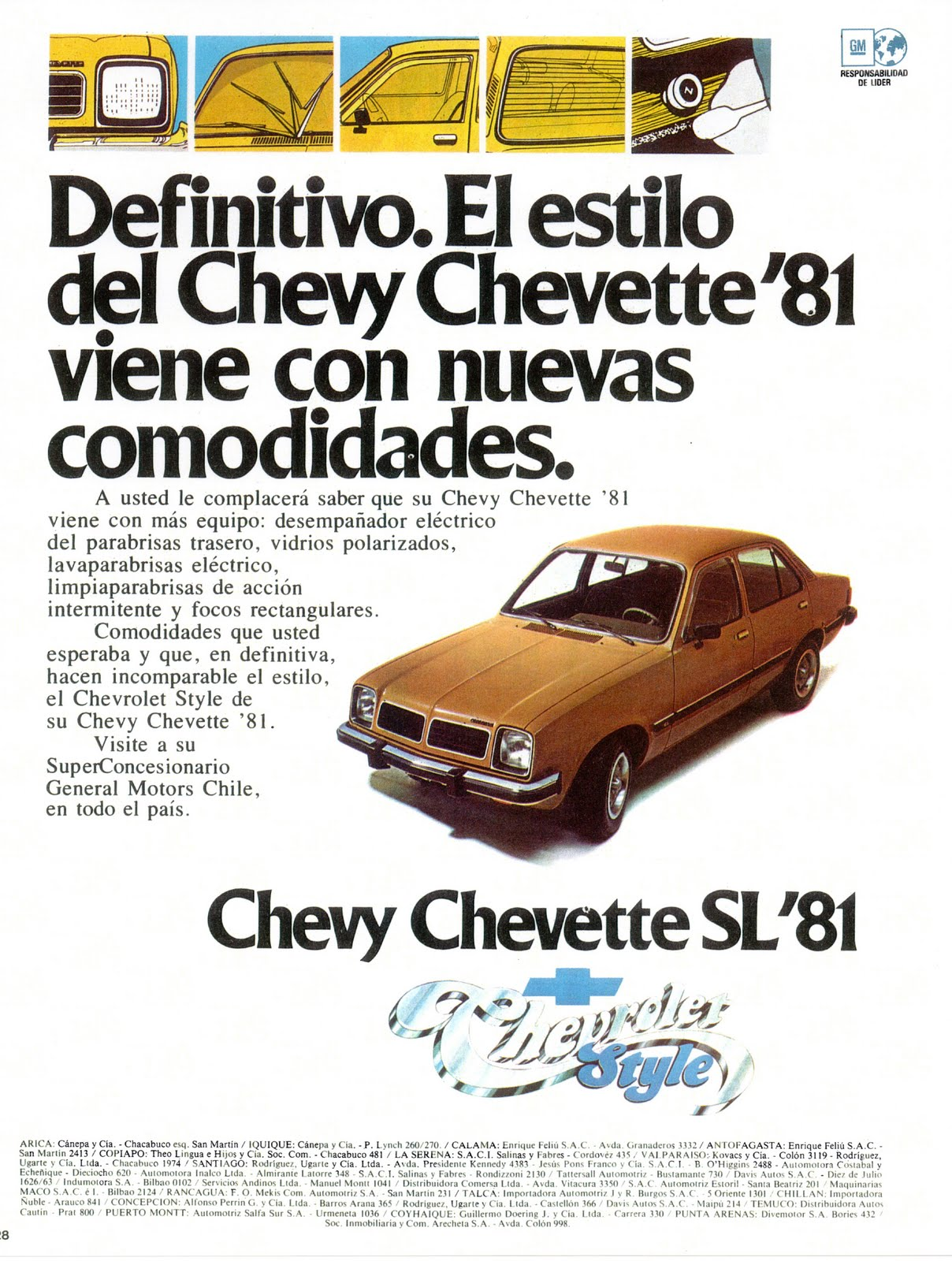 1981 Chevrolet Chevette Information And Photos Momentcar Fuse Box 5