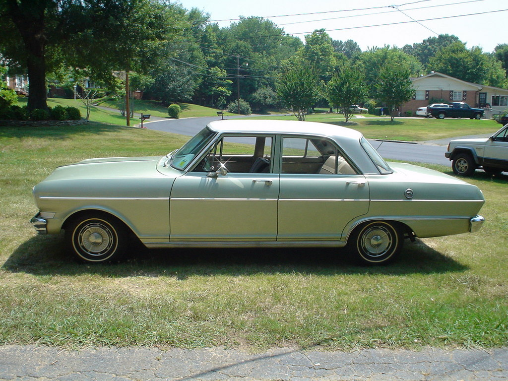 All Chevy 64 chevy ii : 1964 Chevrolet Chevy II - Information and photos - MOMENTcar