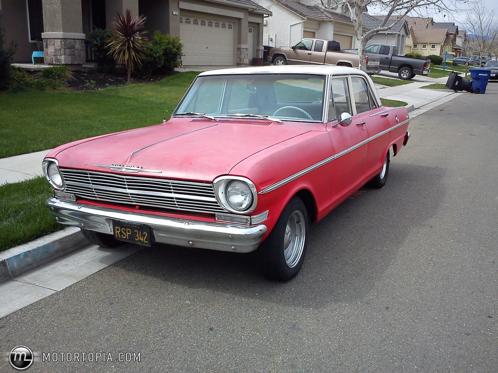 All Chevy 64 chevy ii : 1965 Chevrolet Chevy II - Information and photos - MOMENTcar