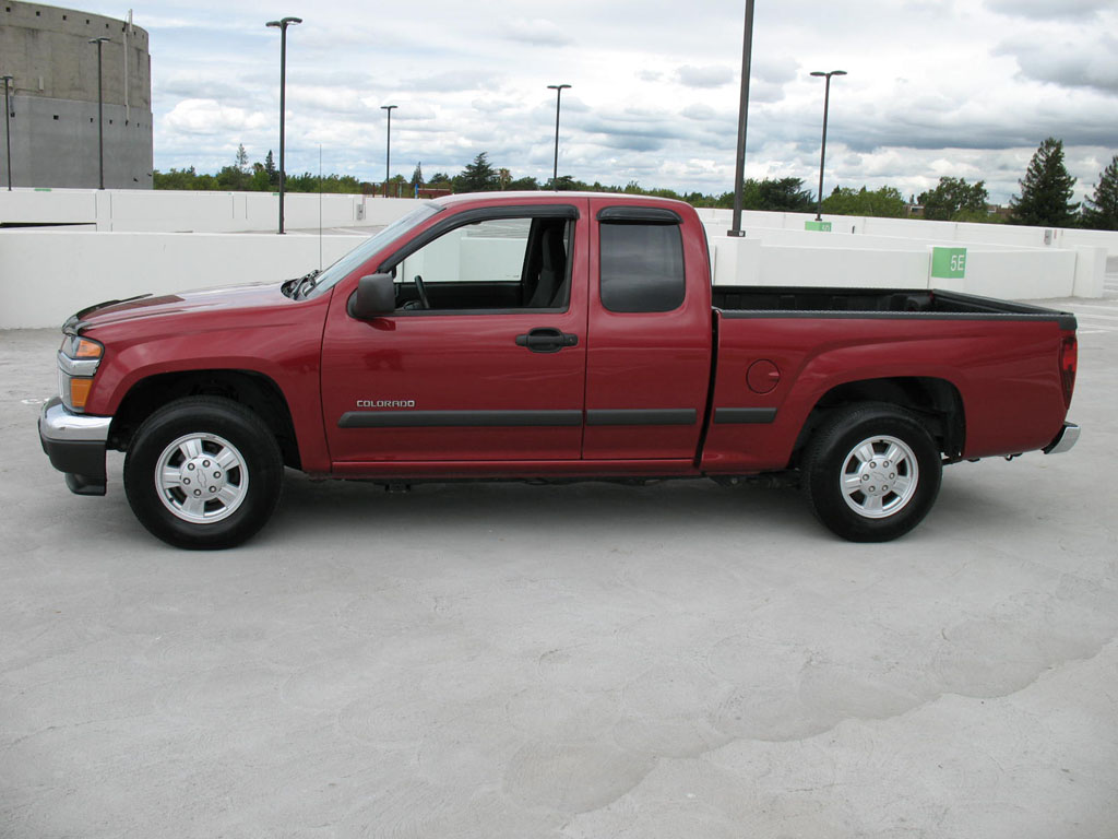 chevrolet colorado information   momentcar