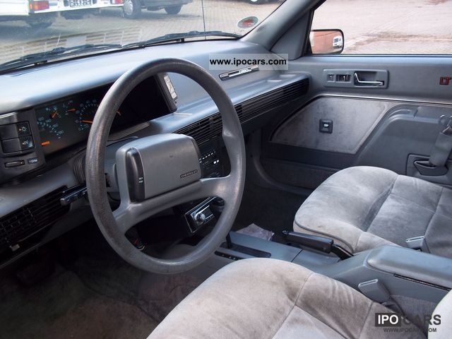 1990 Chevrolet Corsica - Information and photos - MOMENTcar