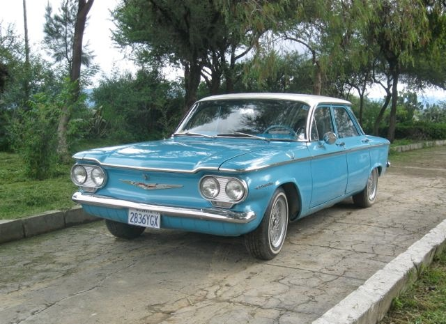 1960 Chevrolet Corvair Information And Photos Momentcar
