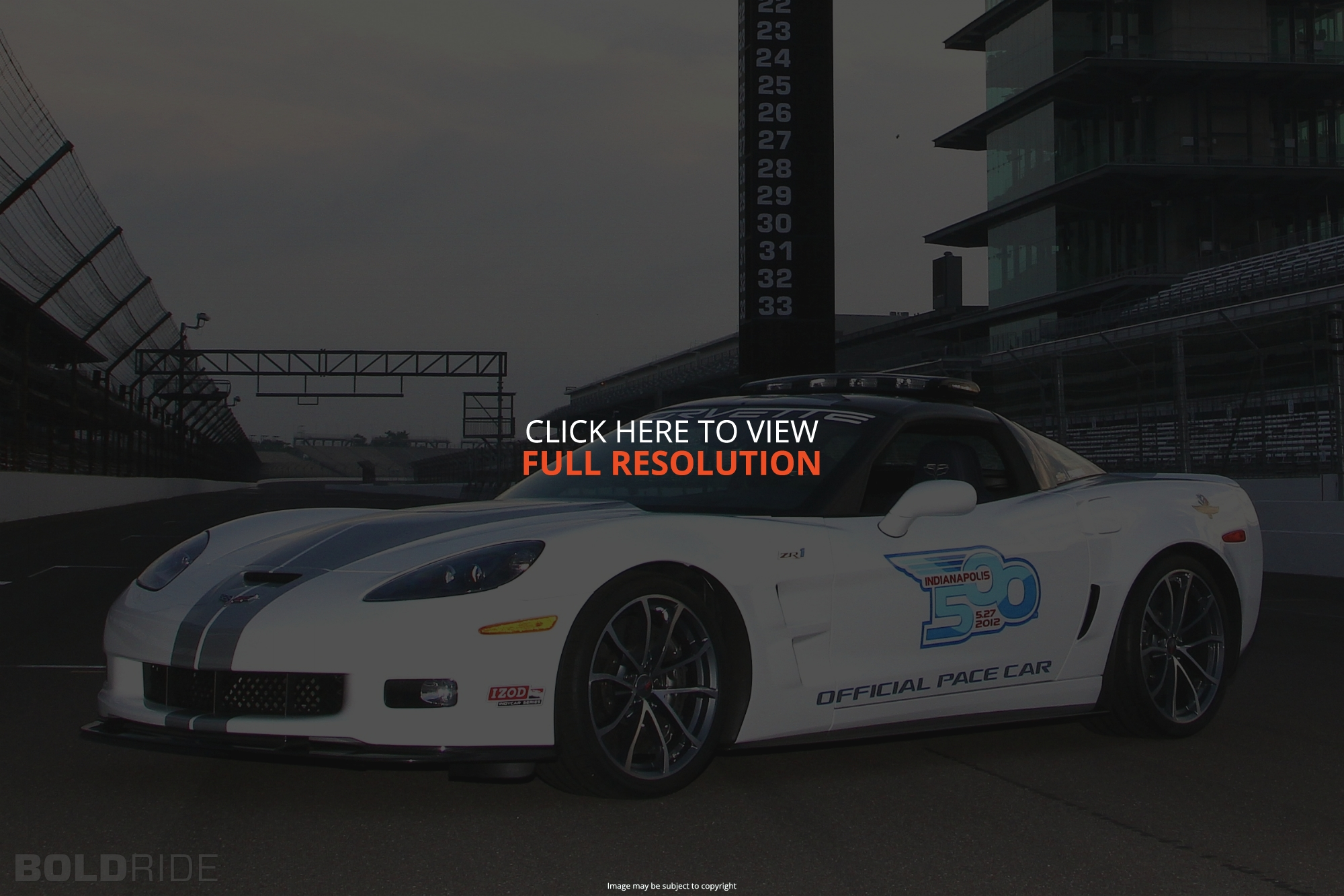 Chevrolet Corvette Indy Pace Car Edition #41