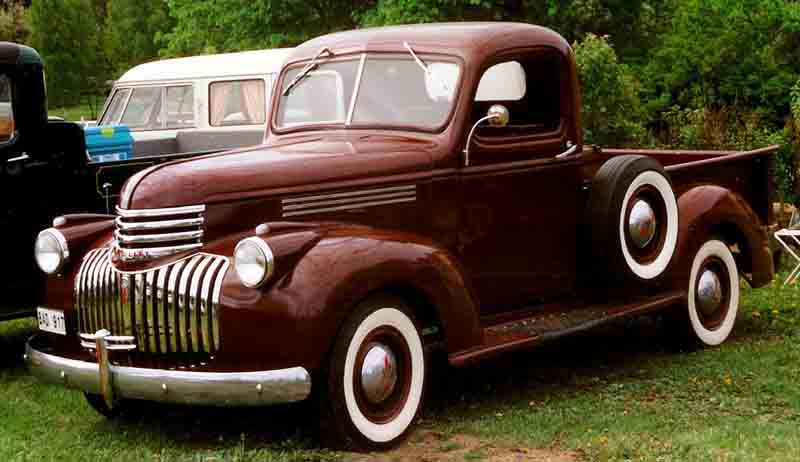 1942 Chevrolet Coupe Pickup - Information and photos ...