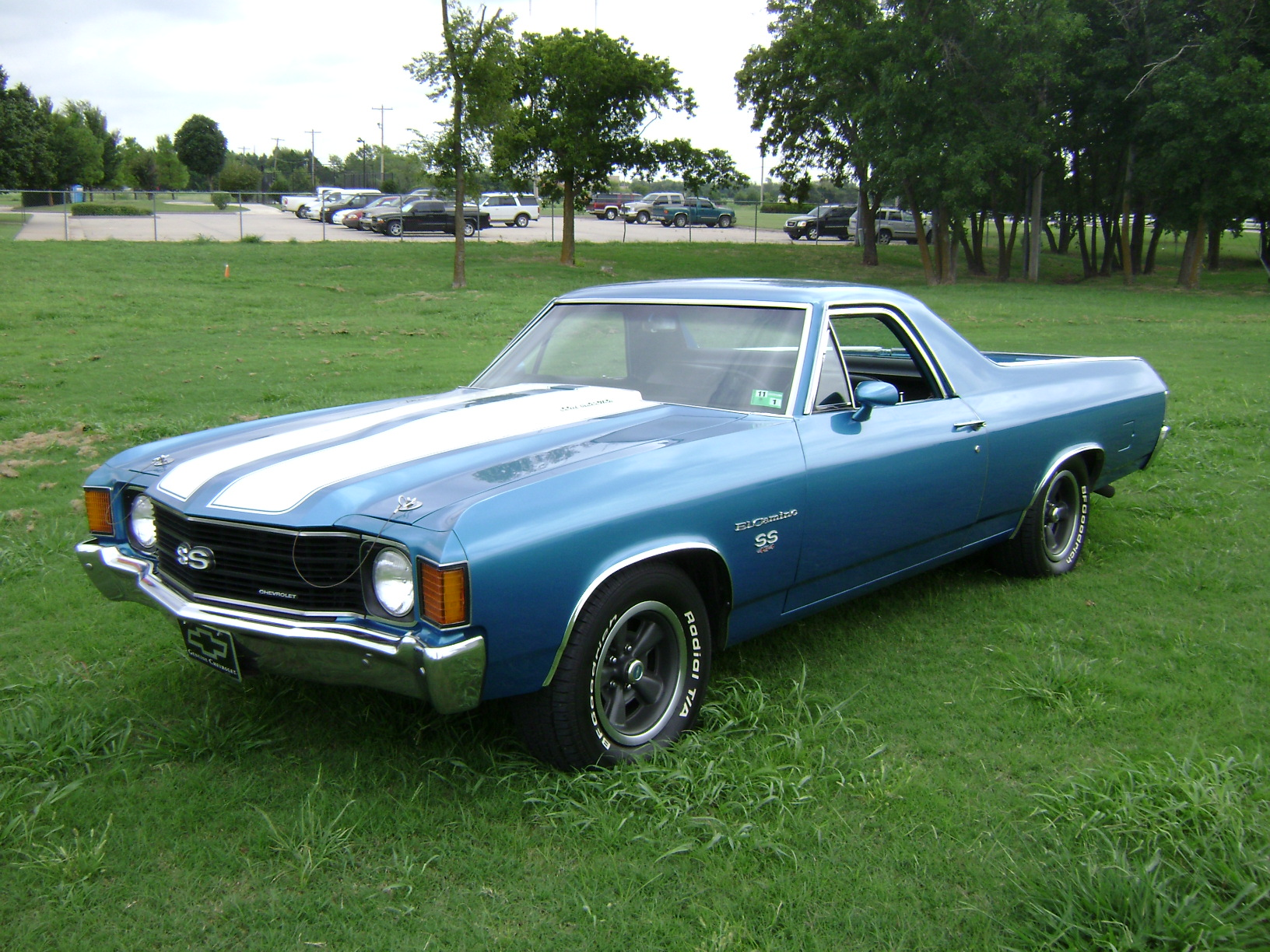 1972 chevrolet el camino information and photos momentcar. Black Bedroom Furniture Sets. Home Design Ideas