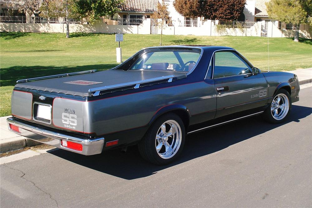 Fiat Of Scottsdale >> 1986 Chevrolet El Camino - Information and photos - MOMENTcar