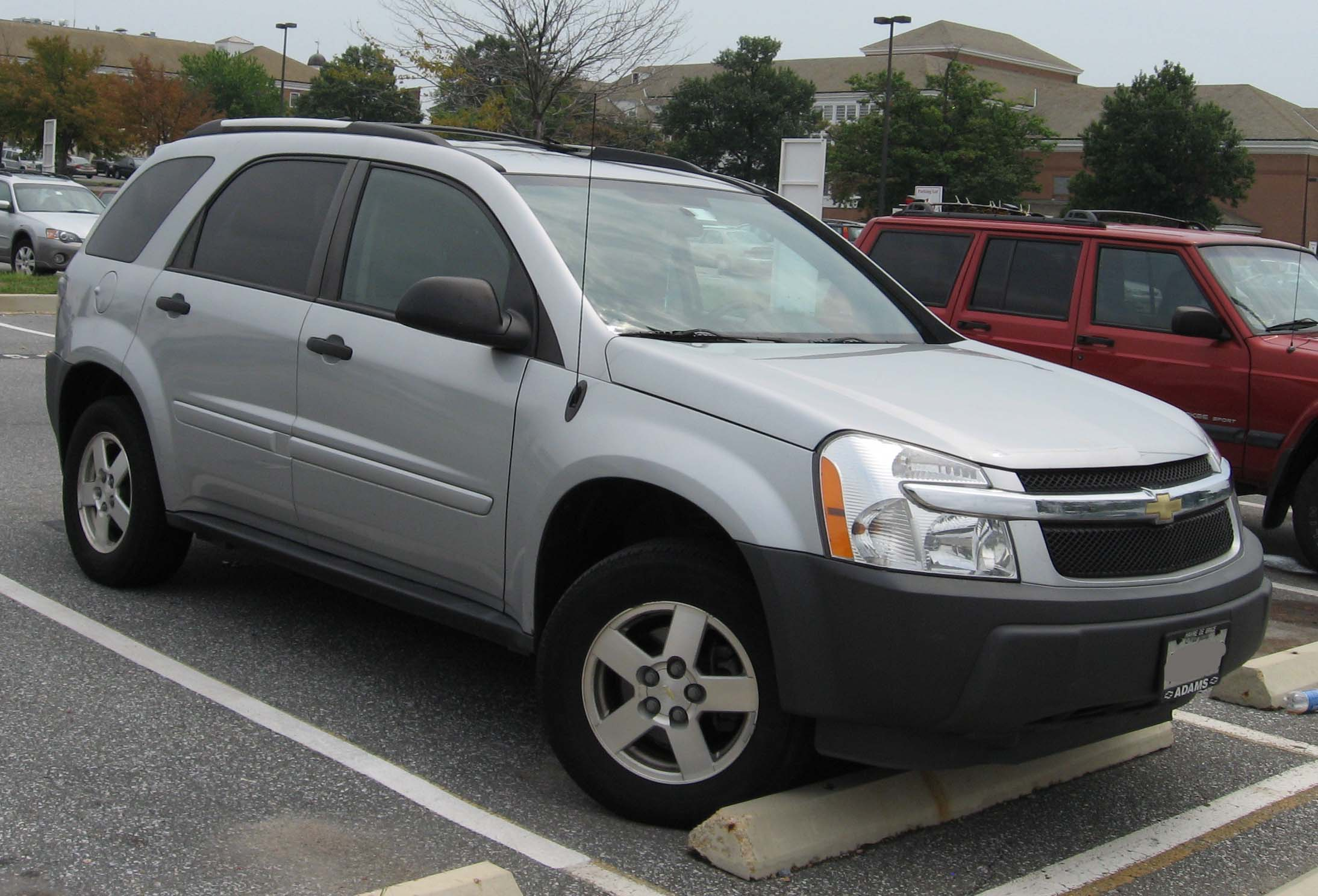 2005 chevrolet equinox information and photos momentcar. Black Bedroom Furniture Sets. Home Design Ideas