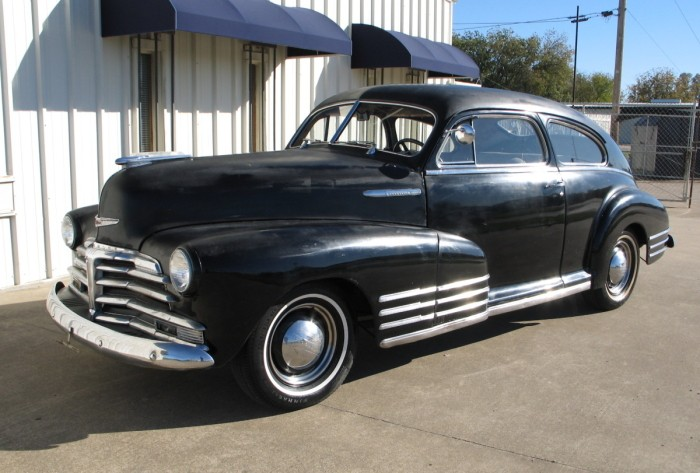 Chevrolet Fleetline 1952 #15