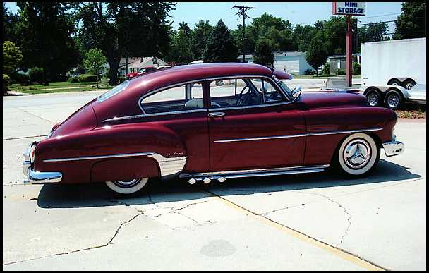Chevrolet Fleetline 1952 #4
