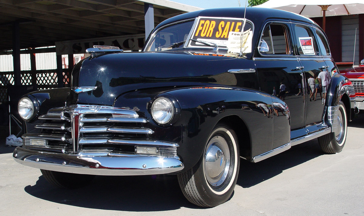 Chevrolet fleetmaster information and photos momentcar for 1946 chevy 4 door sedan