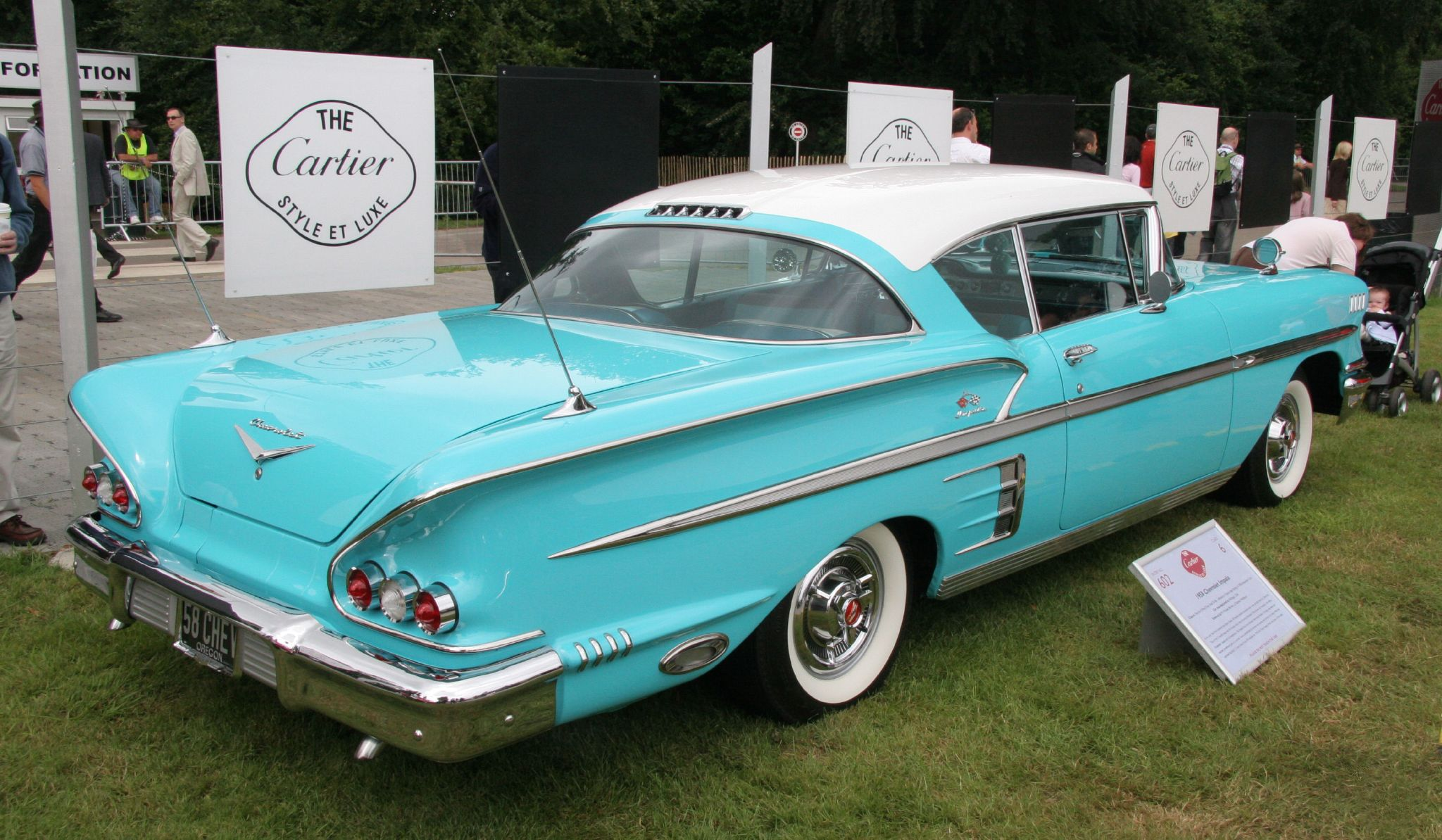 1958 Chevrolet Impala Information And Photos Momentcar