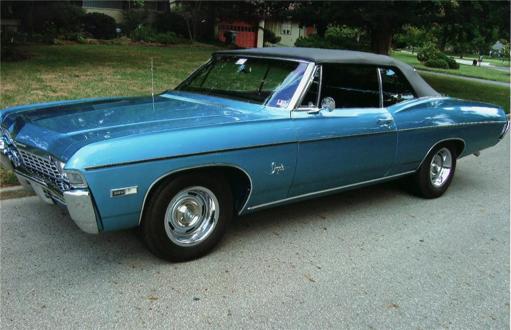 1968 Chevrolet Impala Information and photos MOMENTcar