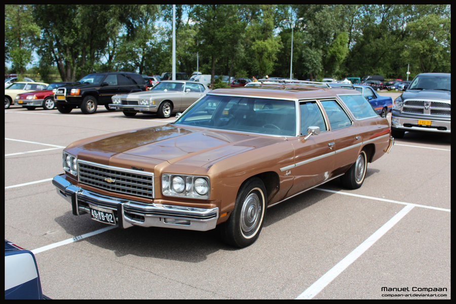 1976 Chevrolet Impala Wagon 400-4 V-8 Turbo-Jet Hydra-Matic (since ...