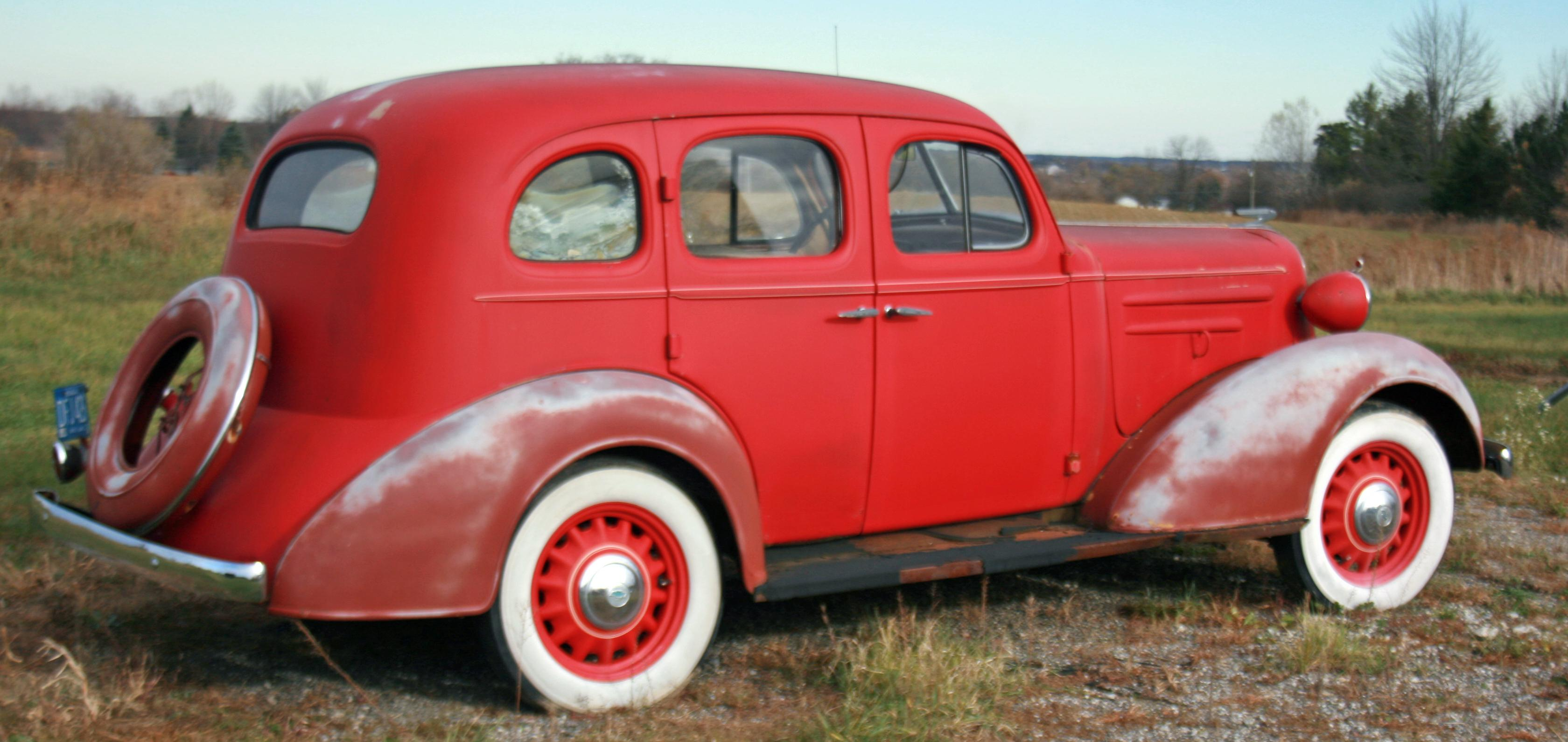 Curbside Classic 1936 Chevrolet Master DeLuxe  Is It Too