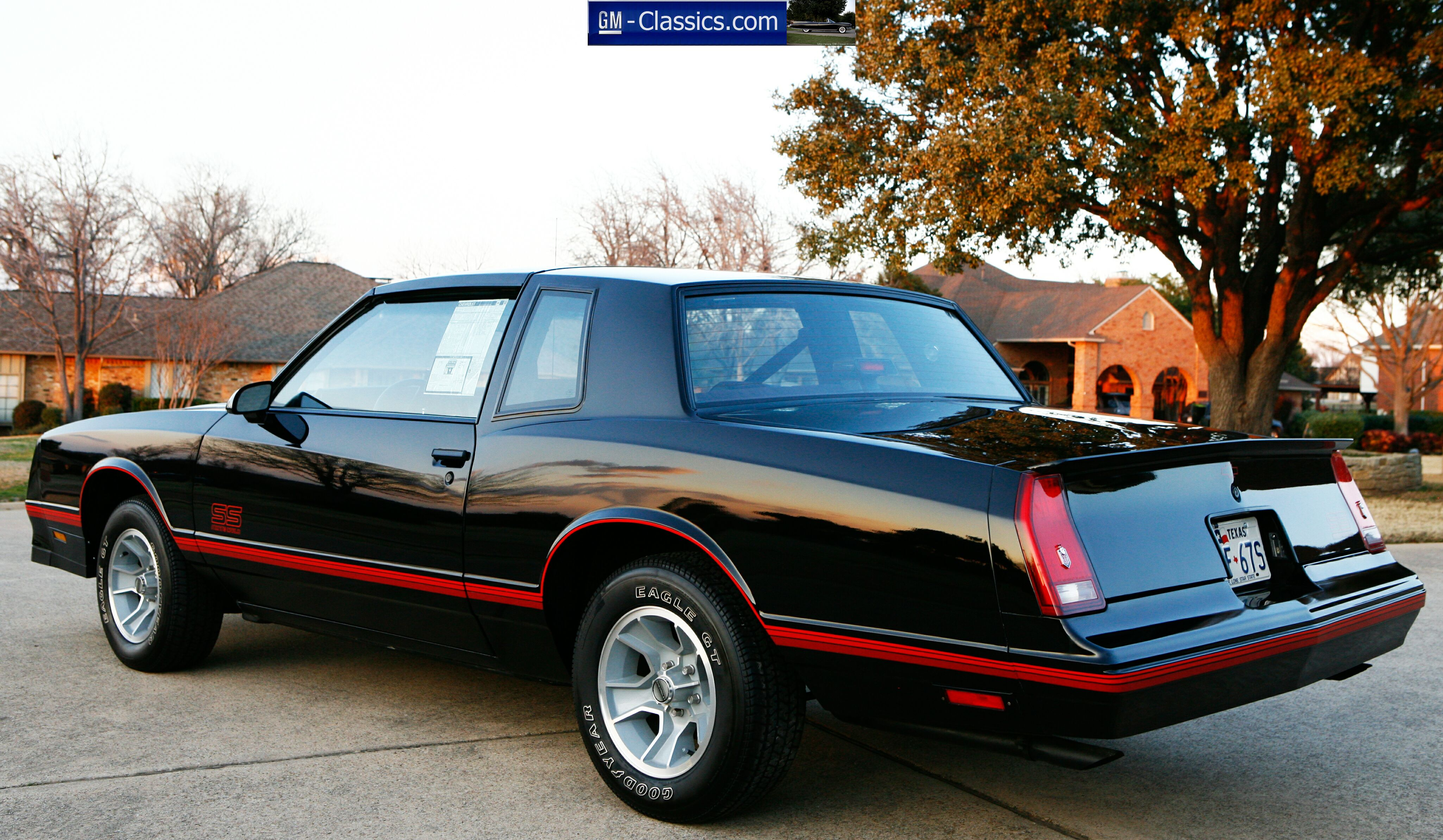 1988 Chevrolet Monte Carlo Information And Photos