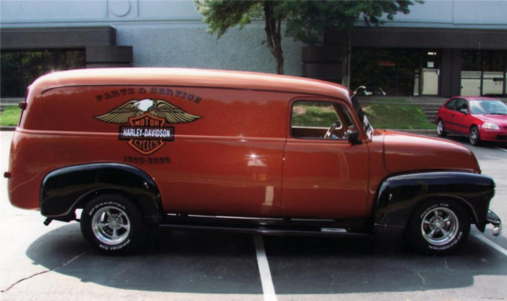 1951 chevrolet panel information and photos momentcar