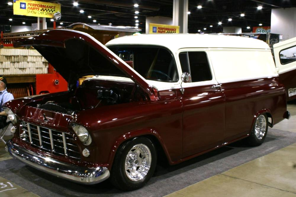 1955 Chevrolet Panel - Information and photos - MOMENTcar
