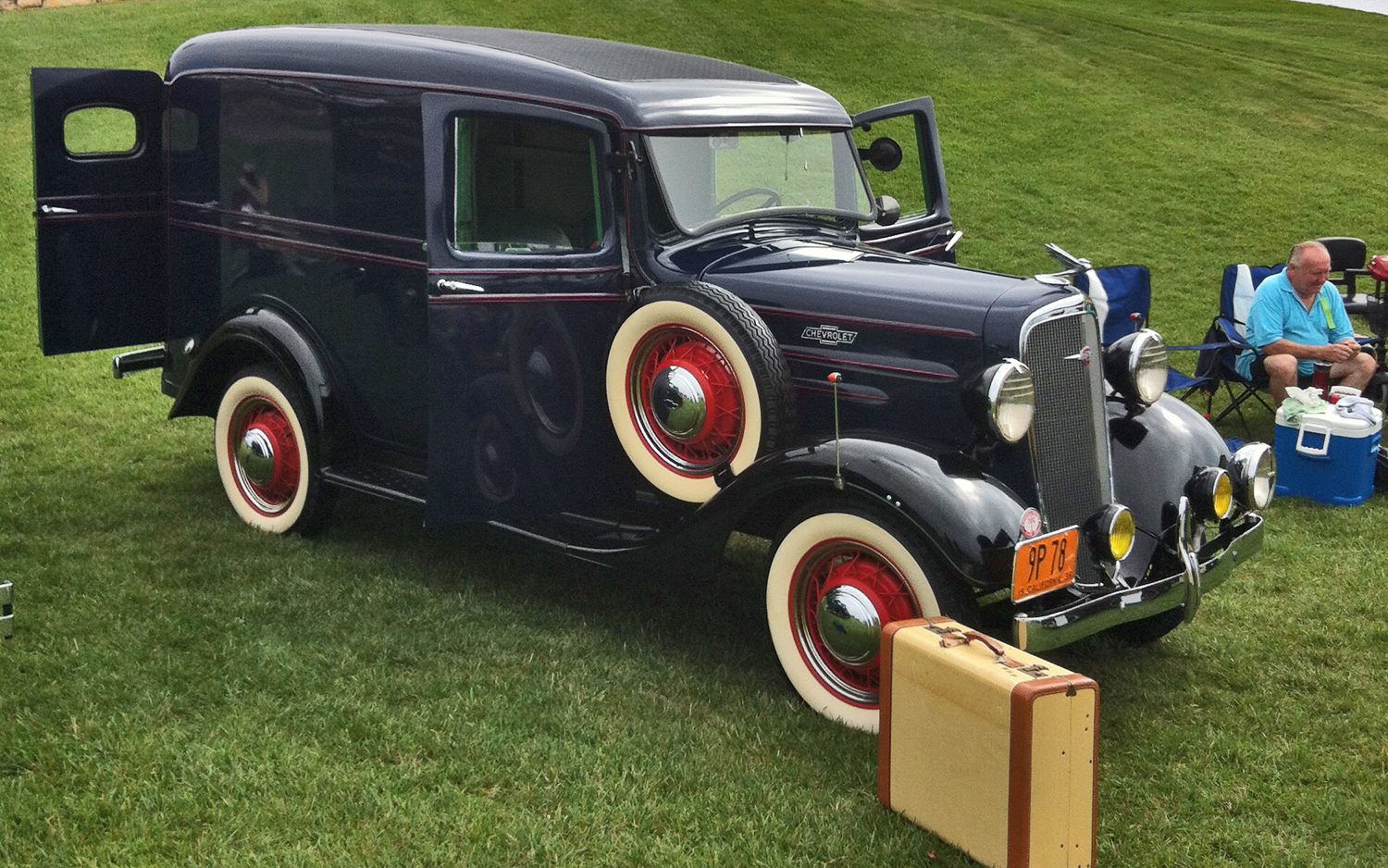 1936 Chevrolet Panel Delivery - Information and photos
