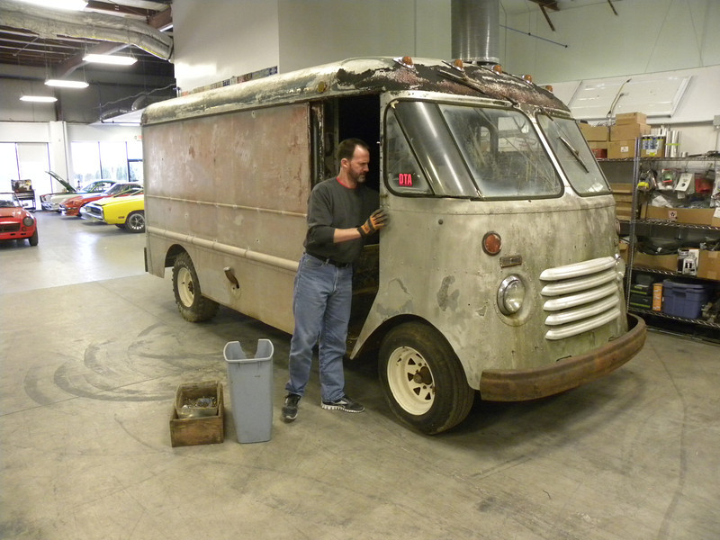 Chevrolet Panel Step Van #1